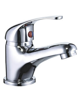 Essential Conway Basin Mixer Tap WRAS Approved  - With Click-Clack Waste