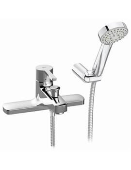 Roca Naia Deck Mounted Bath Shower Mixer