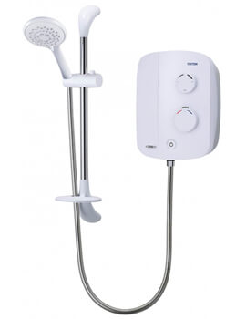 Triton Silent Chrome Running Thermostatic Power Shower