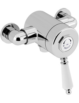Bristan 1901 Exposed Thermostatic Single Control Shower Valve