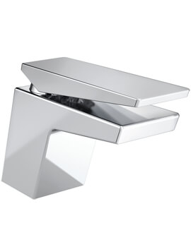 Bristan Sail Deck Mounted Basin Mixer Tap With Clicker Waste