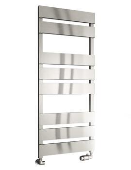 Reina Fermo 480mm Wide Flat Panel Aluminium Towel Rail