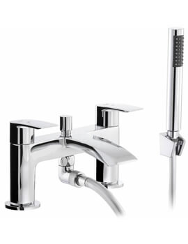 Abode Loop Bath Shower Mixer Tap With Kit