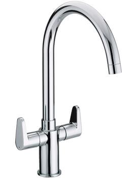Bristan Quest Chrome Kitchen Sink Mixer Tap With EasyFit Base