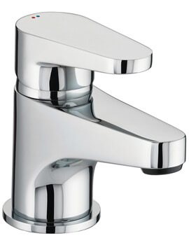 Bristan Quest Deck Mounted Chrome Plated Basin Mixer Tap