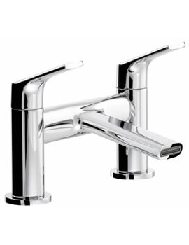 Abode Squire Chrome Deck Mounted Bath Filler Tap