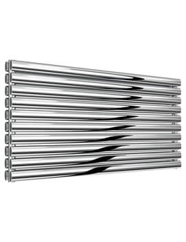 Reina Artena 590mm High Stainless Steel Double Panel Designer Radiator