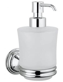 Crosswater Belgravia Glass Soap Dispenser