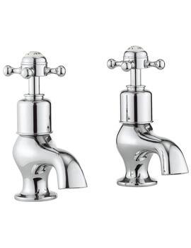 Crosswater Belgravia Pair Of Bath Pillar Taps
