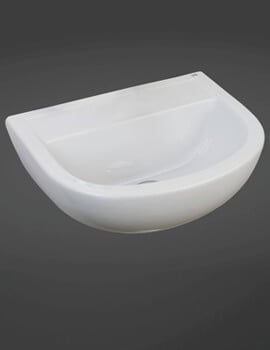 RAK Compact Special Needs 500mm Wall Hung Basin