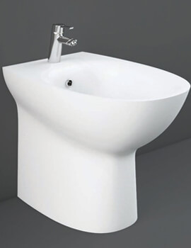 RAK Morning Back To Wall Bidet - 520mm Projection