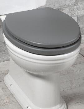 Silverdale Pale Grey Soft-Close Toilet Seat