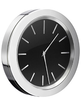 Smedbo Time Bathroom Clock