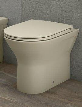 RAK Feeling Rimless Back To Wall WC Pan And Soft Close Seat