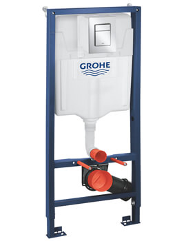 Grohe Rapid SL 3 In 1 Set For WC With GD2 Flushing Cistern