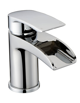 RAK Art Curve Waterfall Spout Mono Basin Mixer Tap
