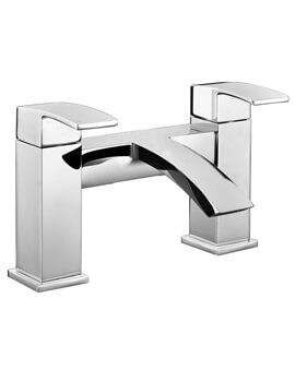 RAK Metropolitan Chrome Bath Filler Tap Deck Mounted