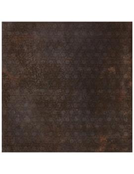 RAK Evoque Metal Lappato 75 x 75cm Brown Decor Porcelain Tile