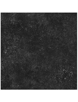 RAK Fashion Stone Lappato 75 x 75cm Black Porcelain Tile