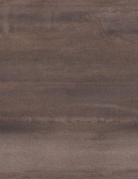 RAK Icon Metal Lappato 120 x 120cm Brown Porcelain Tile