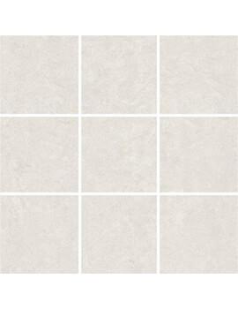 RAK Lounge Unpolished Ivory Full Body Porcelain 10x10 Mosaic 30x30cm Tile