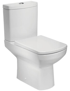 Tavistock Vibe Open Back WC Pan With Cistern And Soft Close Seat
