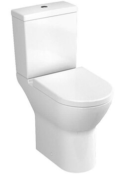 VitrA S50 Comfort Height Close Coupled WC And Cistern With Toilet Seat