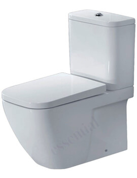 Essential Fuchsia Close Coupled Back To Wall Pan With Cistern And Seat