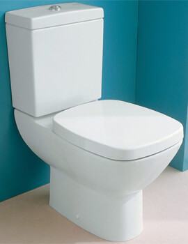 Silverdale Ascot Close Coupled WC Pan And Cistern