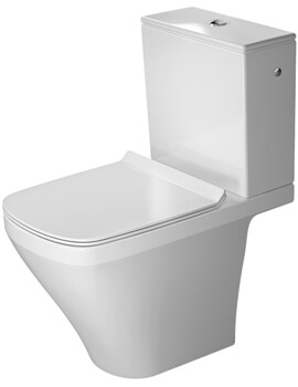 Duravit DuraStyle 370 x 630mm Close Coupled Washdown Toilet With Cistern