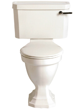 Heritage Granley Deco 680mm Comfort Height WC And Landscape Cistern