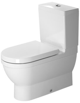 Duravit Starck 3 Close Coupled Toilet With Cistern