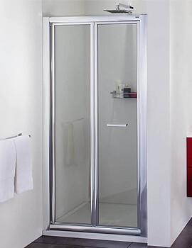 Aqata Exclusive ES260 Bi-Fold Shower Door For Recess