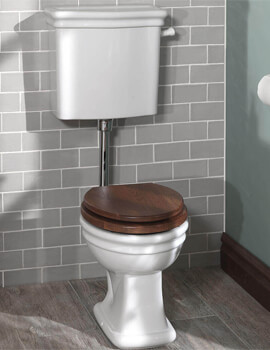 Silverdale Loxley 450 x 750mm Low Level Pan And Cistern White