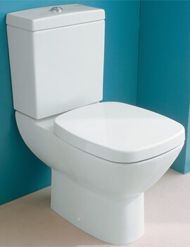 Silverdale Ascot Close Coupled Toilet With Soft Close Seat
