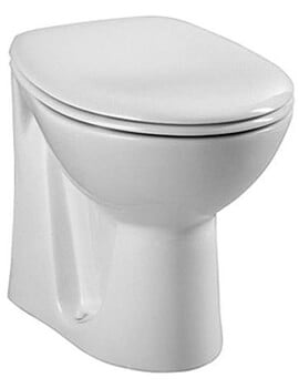 VitrA Layton WC Back TO Wall With Toilet Seat