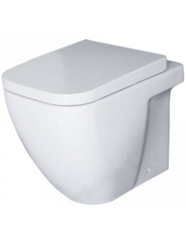 Essential Fuchsia Back To Wall Toilet Pan And Soft Close Seat - White