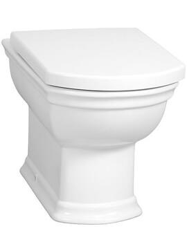 Vitra Serenada Back To Wall Pan With Toilet Seat
