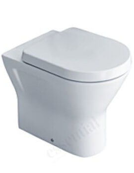 Essential IVY Comfort Height Back To Wall Pan With Soft Close Seat