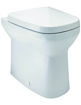 Britton My Home White Finish Back To Wall WC Pan With Soft Close Seat