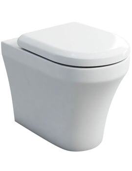 Britton Fine S40 BTW WC Pan With Carbamide Soft Close Seat