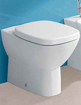 Silverdale Ascot 340 x 560mm Back To Wall Toilet With Soft Close Seat
