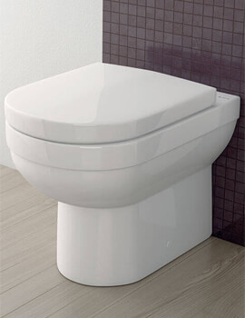 Silverdale Richmond Back To Wall WC Pan With Soft Close Seat