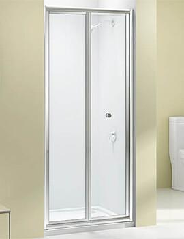 Merlyn Ionic Source Bi-Fold Door 4mm Glass - W 700 x H 1850mm