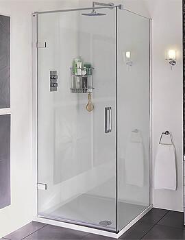 Aqata Spectra SP456 Hinged Door Corner Enclosure 900 x 760mm