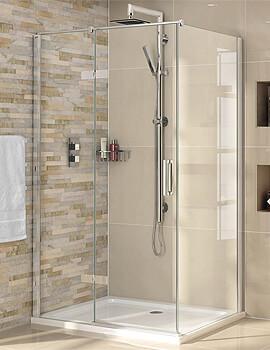 Aqata Spectra SP460 Hinged Door 800 x 800mm Corner Shower Enclosure
