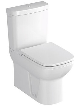 VitrA S20 Close Coupled WC With Cistern And Toilet Seat