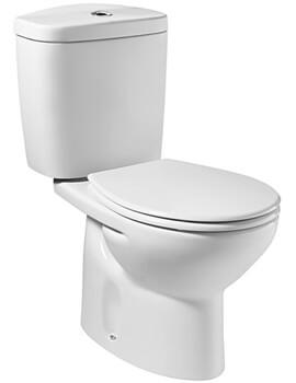 Roca Laura Eco Close Coupled Toilet Pan Including Dual Flush Cistern