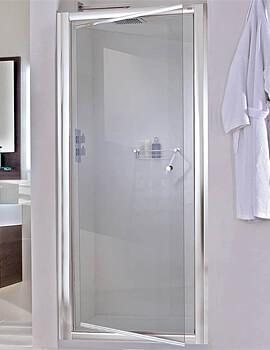 Aqata Exclusive ES240 760mm Left Hand Pivot Shower Door For Recess