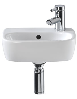 Twyford Moda White Handrinse Basin 360 x 260mm